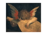 Angel Musician Giclee Print by Rudolph von Alt