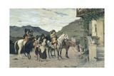 The Halfway House Giclee Print by Lorenzo di Niccolo Gerini
