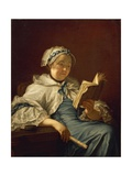 The Painter's Wife Reading, 1758 Giclee Print by  Donatello