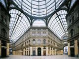 Galleria Umberto I Fotografisk tryk af Francesco Primaticcio