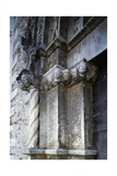 Entrance, Church of Saint Anthony Abbot, 1471, Tossicia, Abruzzo, Italy, Detail Giclee Print by Andrea Palladio
