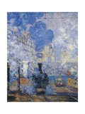 Saint Lazare Station, 1877 Giclee Print by Claude Monet