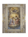 Coronation of Virgin Giclee Print by Marcello Fogolino