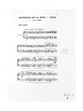 Score of Trois Sonneries De La Rose Croix, 1892 Giclee Print by Ernest Louis Lessieux