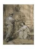 Augustus and Cleopatra, 1759 Giclee Print by Anton Raphael Mengs