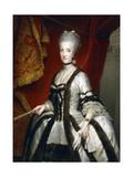 Portrait of Maria Carolina of Austria, Queen of Naples Giclee Print by Anton Raphael Mengs
