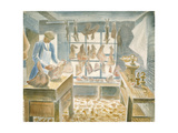 The Butcher's Shop Giclee Print by Eric Ravilious