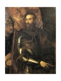 Portrait of Pierluigi Farnese with Armature, 1546 Giclee Print by Tito Agujari