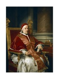 Portrait of Pope Clement XIII Rezzonico, 1758 Giclee Print by Anton Raphael Mengs