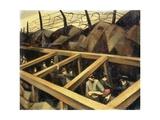 The Underground War Giclee Print by Christopher Richard Wynne Nevinson