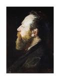 Portrait of Gaetano Fasanotti Giclee Print by Mose Bianchi