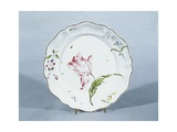 Plate with Floral Decorations, Ca 1760 Giclee Print by Joseph Harold Swanwick