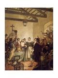 Congress of Tucuman, July 9, 1816 Giclee Print by Mose Bianchi