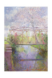 The Trellis Crossing Giclee Print by Timothy Easton