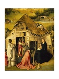 Hut, Detail from Adoration of the Magi Giclee Print by Hieronymus Janssens