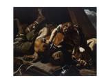 David and Goliath Giclee Print by Orazio Grevenbroeck
