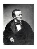 Portrait of Richard Wagner, German Composer Giclee Print by Pierre-Auguste Renoir