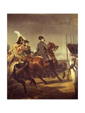 Napoleon at Jena, October 1806 Giclee Print by Hyacinthe Rigaud