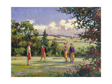 The 18th Green Giclee Print by Paul Gribble