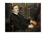 Portrait of Paul Claudel, 1919 Giclee Print by Jacques-emile Blanche