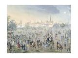 Celebration for Church Consecration in Brigittenau in Vienna, Ca 1820 Giclee Print by Francois Gerard
