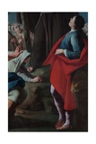 Saint Peter of Alcantara's Preaching, 1737 Giclee Print by Antonio Fontanesi