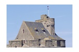 View of Keep of Saint-Malo Castle, Saint-Malo, Brittany, France Giclee Print by Jens Juel