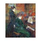 The Singing Lesson, 1864-1901 Lámina giclée por Henri de Toulouse-Lautrec