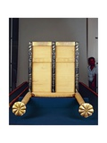 Sedan Chair of Queen Hetepheres from Old Kingdom, Circa 2585 B.C. Giclee Print by Antonio Fontanesi