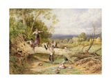 Playtime Giclee Print by Myles Birket Foster