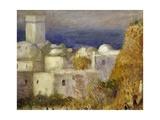 The Mosque or Arab Festival Giclee Print by Pierre-Denis Martin