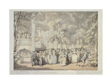 England, London, Vauxhall Garden, 1784 Giclee Print by Thomas Weaver