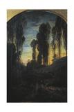 Vesper, 1859 Giclee Print by Antonio Fontanesi