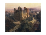 View of Chateau De Pau, 1843 Giclee Print by Jean-Auguste-Dominique Ingres