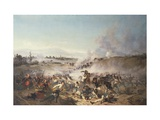 Second War of Independence, Battle of Palestro, May 31, 1859 Giclee Print by Emilio Longoni