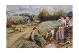 Springtime Giclee Print by Myles Birket Foster