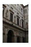 Italy, Rome, Spada's Palace Giclee Print by Francesco Borromini