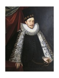Portrait of Sigismund III Vasa, King of Sweden and Poland Giclee Print by Martin Rota