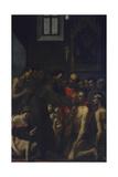 Saint Diego from Alcalà Giclée-tryk af Jacopo Pontormo