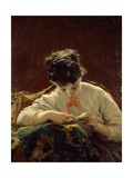 The Reader, 1867 Giclee Print by Moses Griffith