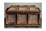 Rock Crystal Chest with Scenes from Life of Christ Giclee Print by Vincenzo Cabianca