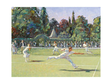 The Tennis Match Giclee Print by Paul Gribble
