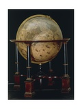 Earth Globe, 1635 Giclee Print by Joan Blaeu