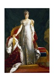 Portrait of Marie Louise, Empress of France Giclee Print by Barry Watkin