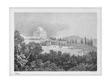 Villa La Rotonda in Inverigo, 1813, Italy Giclee Print by Luigi Conconi