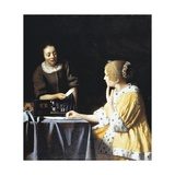 Mistress and Maid, 1666 Giclee Print by Jan Wildens