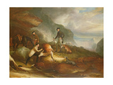 Sir Harry Goodrich Deer-Stalking Giclee Print by John Everett Millais