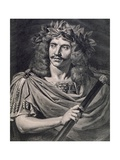 Moliere Plays Caesar in the Death of Pompey Giclee Print by Pierre Edouard Frere
