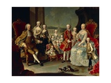 The Imperial Family of Francis I Giclee Print by Mary Ellen Best