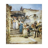 Marriage in Abruzzo, 1876 Giclee Print by Francesco Paolo Michetti